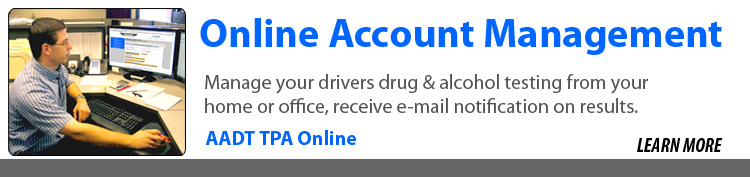 AADT TPA Online Account Management
